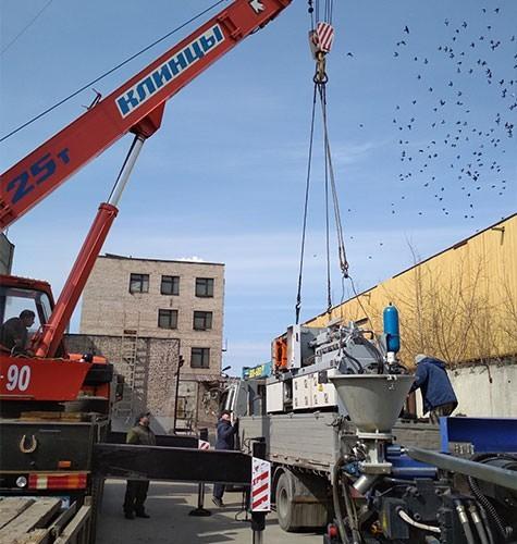 Перевозка промышленного оборудования в Томске