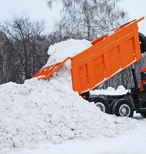 Услуга по уборке снега в Томске