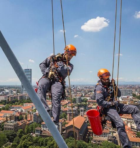 Услуги промышленного альпинизма в Томске