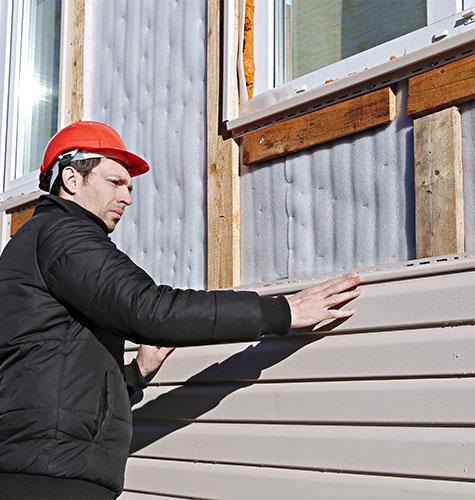 Отделка и ремонт фасада в Томске