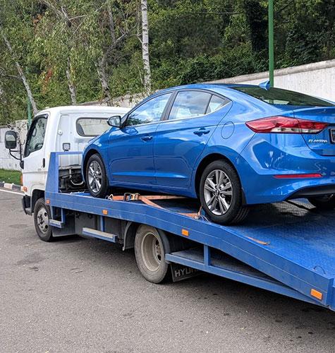 Транспортировка легковых авто в Томске