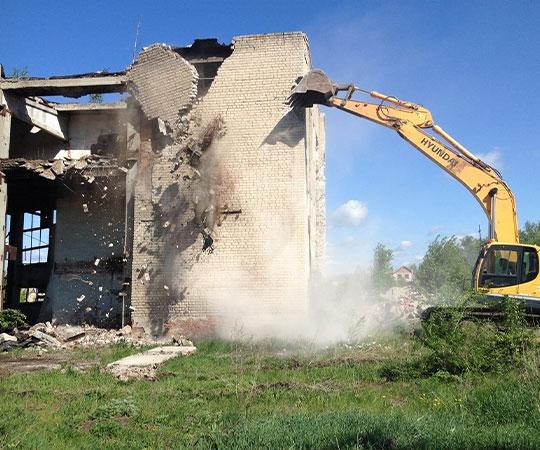 Демонтаж зданий в Томске и Томской области